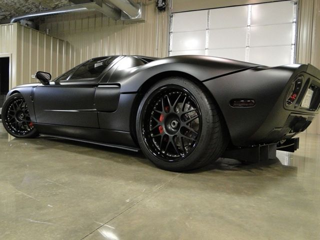 Matte Black Ford Gt I Love The Wheels