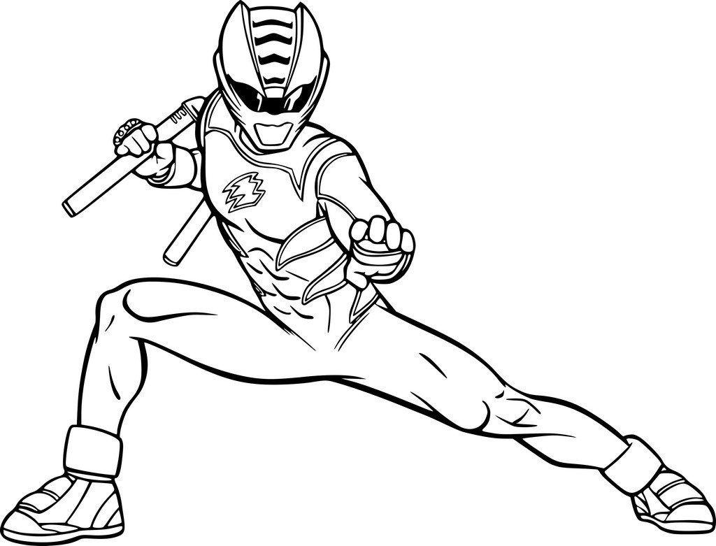 Coloriage A Imprimer Power Rangers