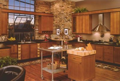 Natural Hickory Kitchens | Kitchen Remodeling Virginia   Prince William  Home Improvement