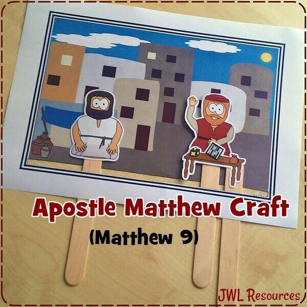 Matthew Matthew 9 Bible Stories For Kids Bible Crafts Bible