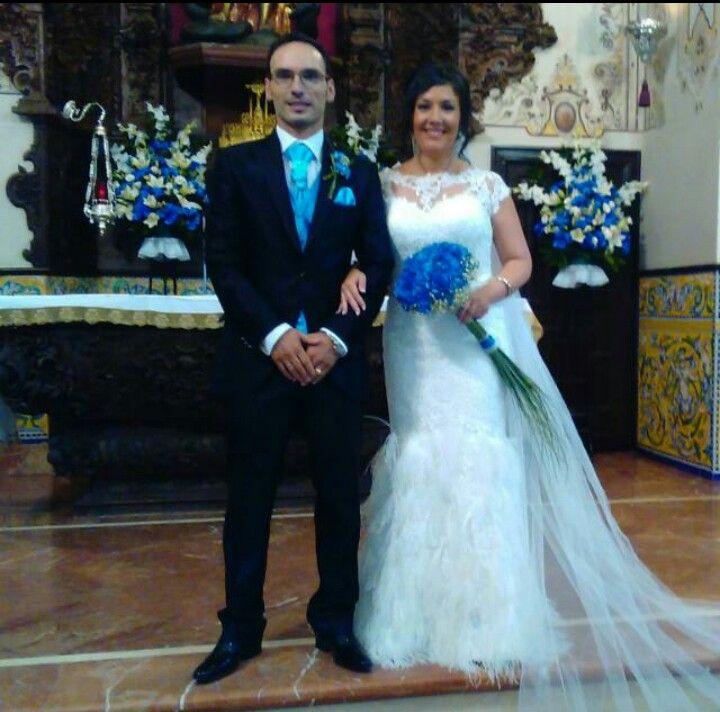 #NoviasManuGarcia #Nuestrasnovias #LourdesSánchez #vestidodenovia