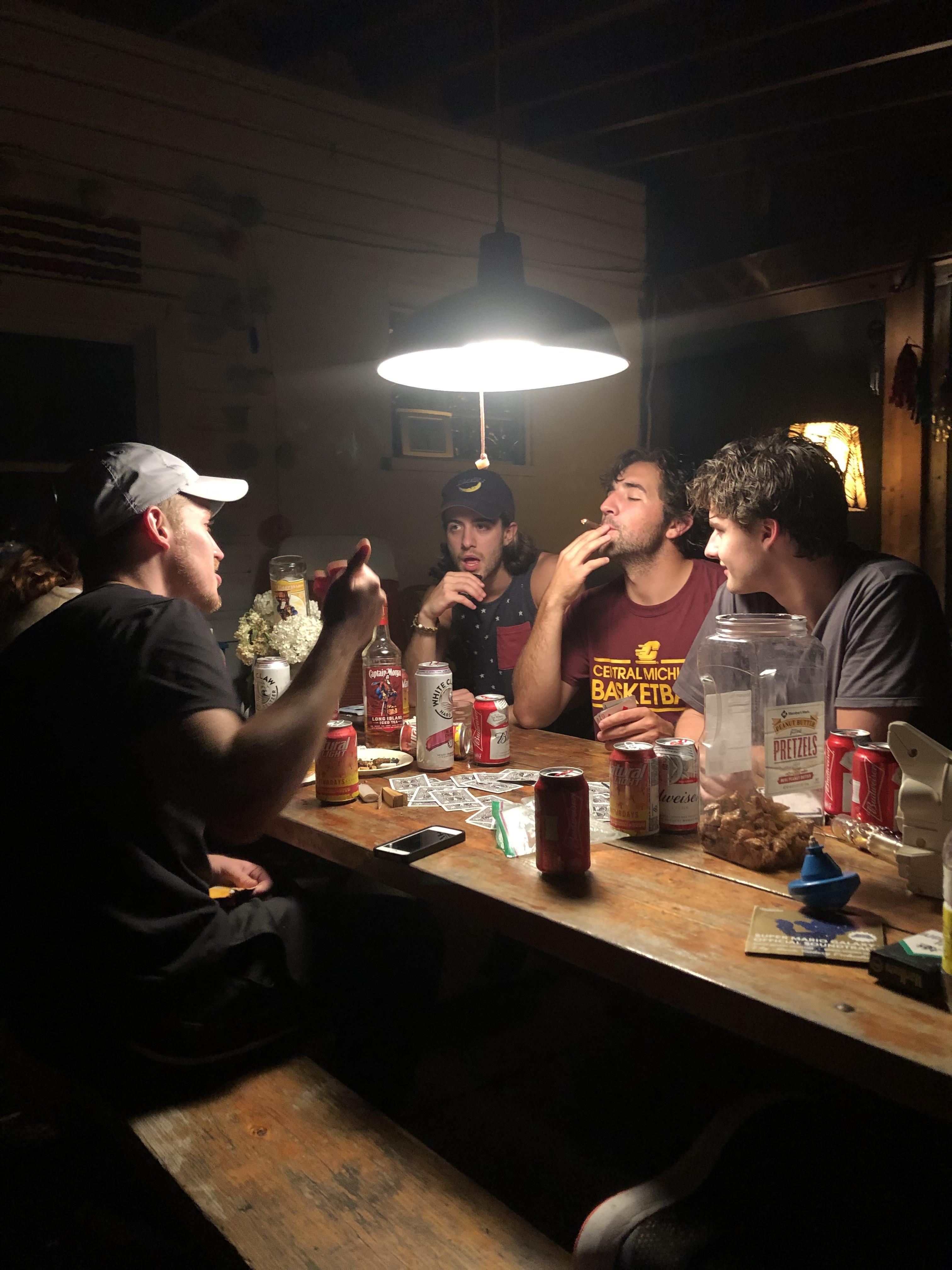 """Late night chat"" art photography AccidentalRenaissance"