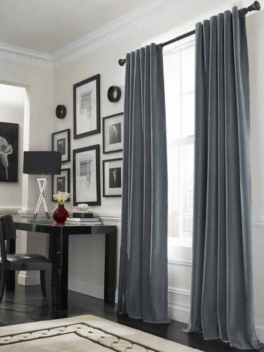 curtains for a big windows | Living room nel 2019 | Tende ...
