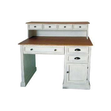Shabby Schreibtisch Mit Aufsatz Weiss Schreibtisch Schreibtischideen Schreibtisch Aufsatz