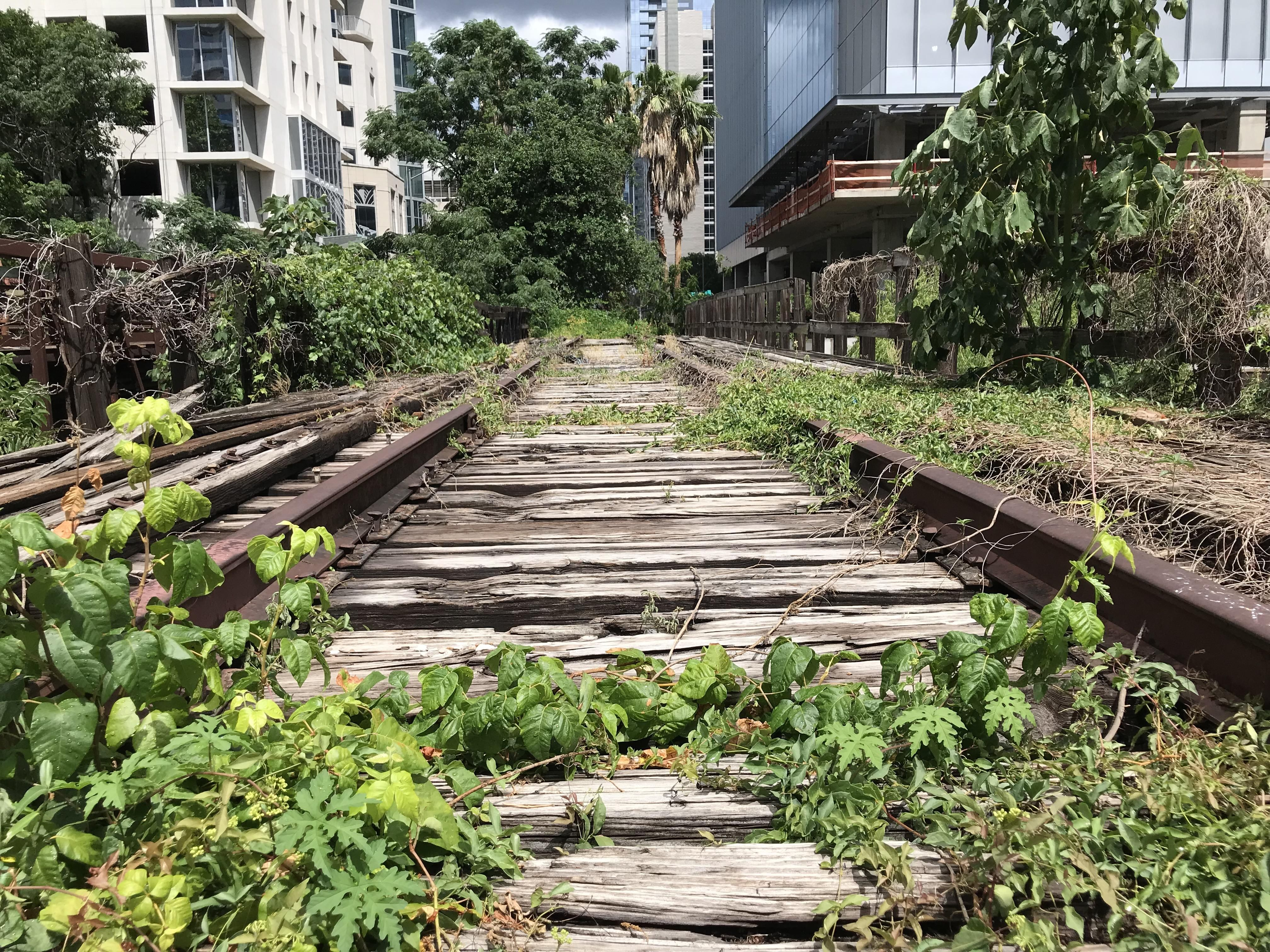 Abandoned Railroad Found In Downtown Austin