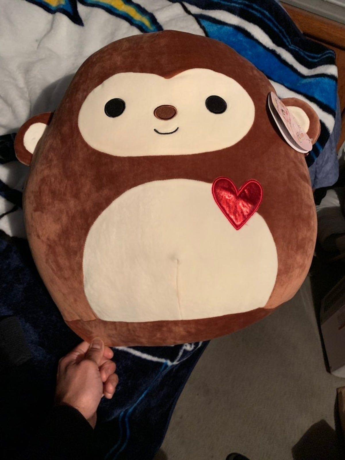 Squishmallows Monkey Cute Stuffed Animals Animal Pillows Monkey Stuffed Animal
