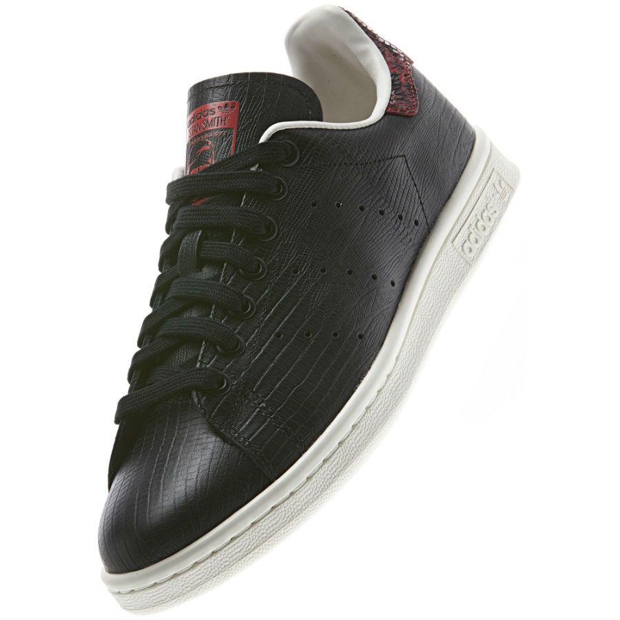 adidas Originals Stan Smith EF Leather Black Collegiate
