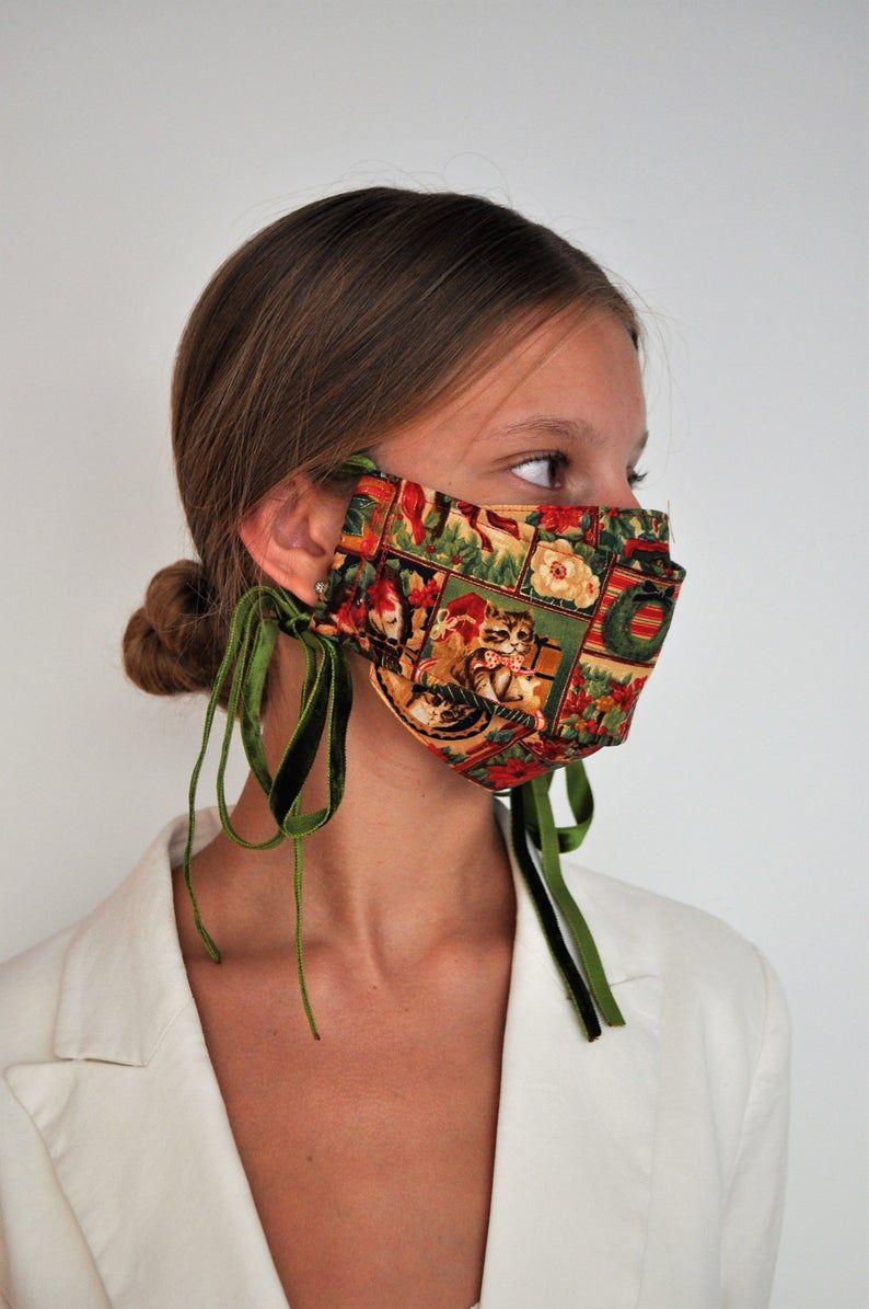 Como Hacer Una Mascara Navidena