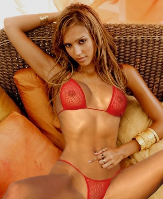 Real jessica alba naked images