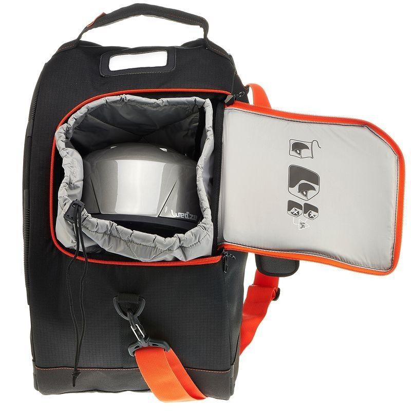 wintersport skisnowboard equipment wintersport wedze skischuhtasche mit helmfach travel bag. Black Bedroom Furniture Sets. Home Design Ideas