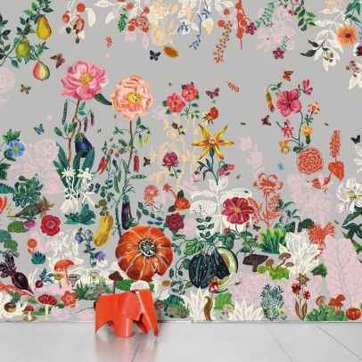 Domestic Paris Vs New-York - Paris wallpaper - Kids Bedroom Decor - Smallable