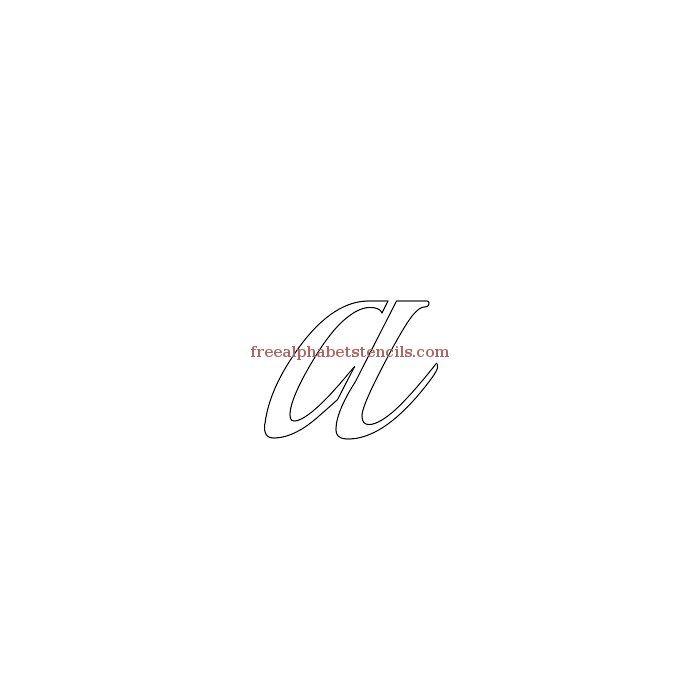 alphabetstencil-a.jpg (700×700)