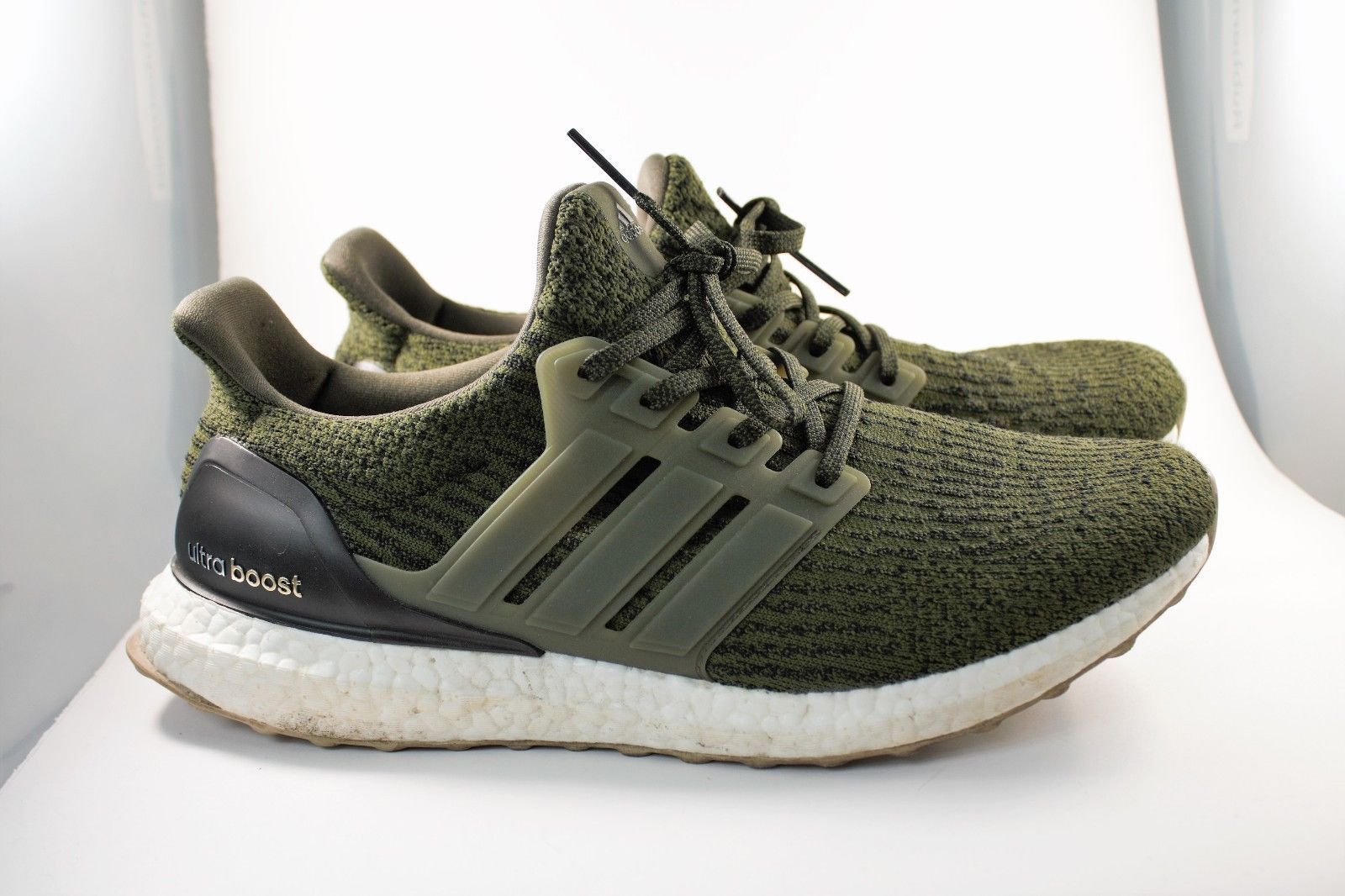 1f85c73a096 Details about Adidas Ultra Boost 3.0 Trace Olive Khaki 8.5 US S82018 ...