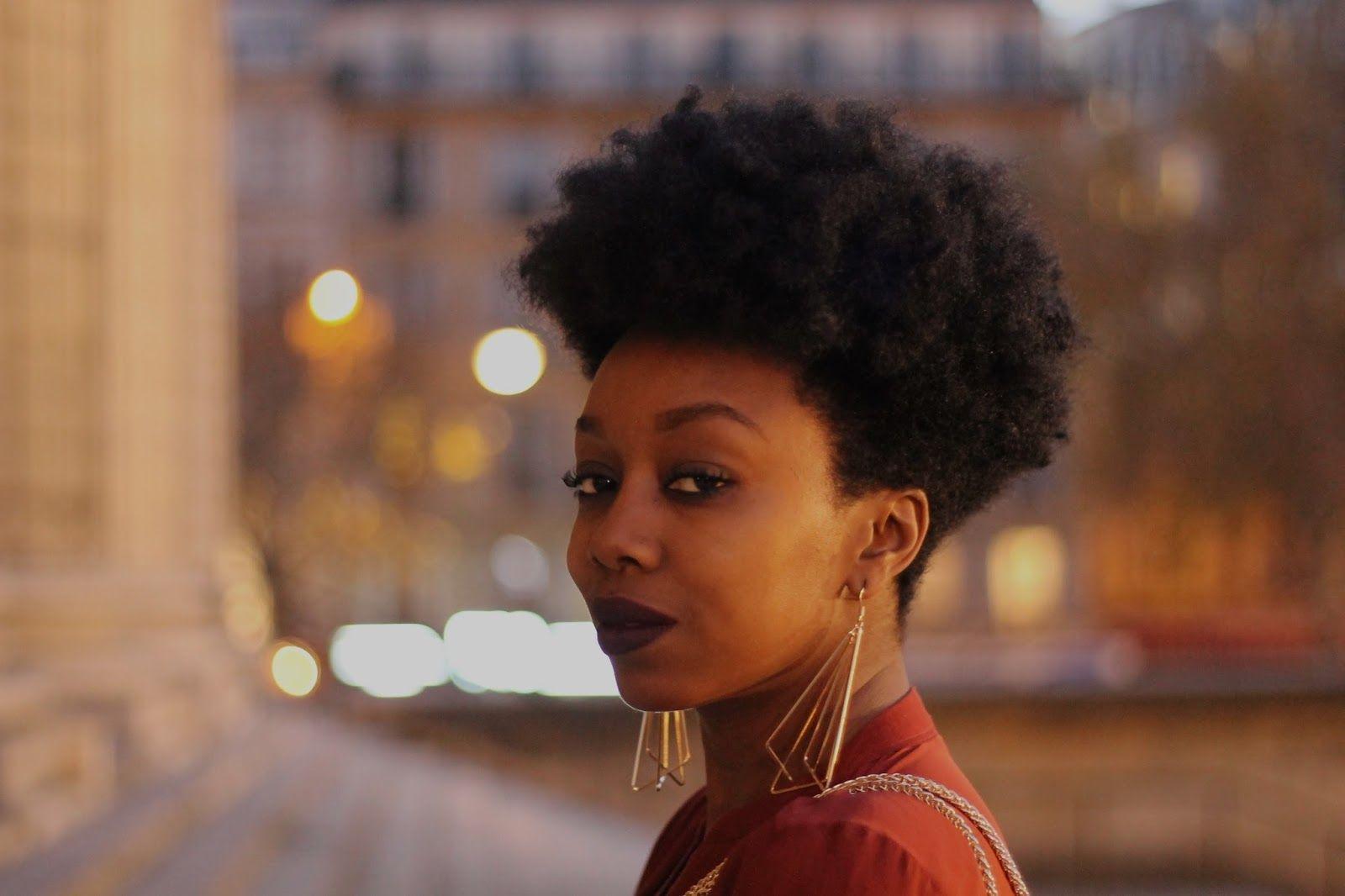 blog beauté, blog beauté noire | Coiffure courte afro