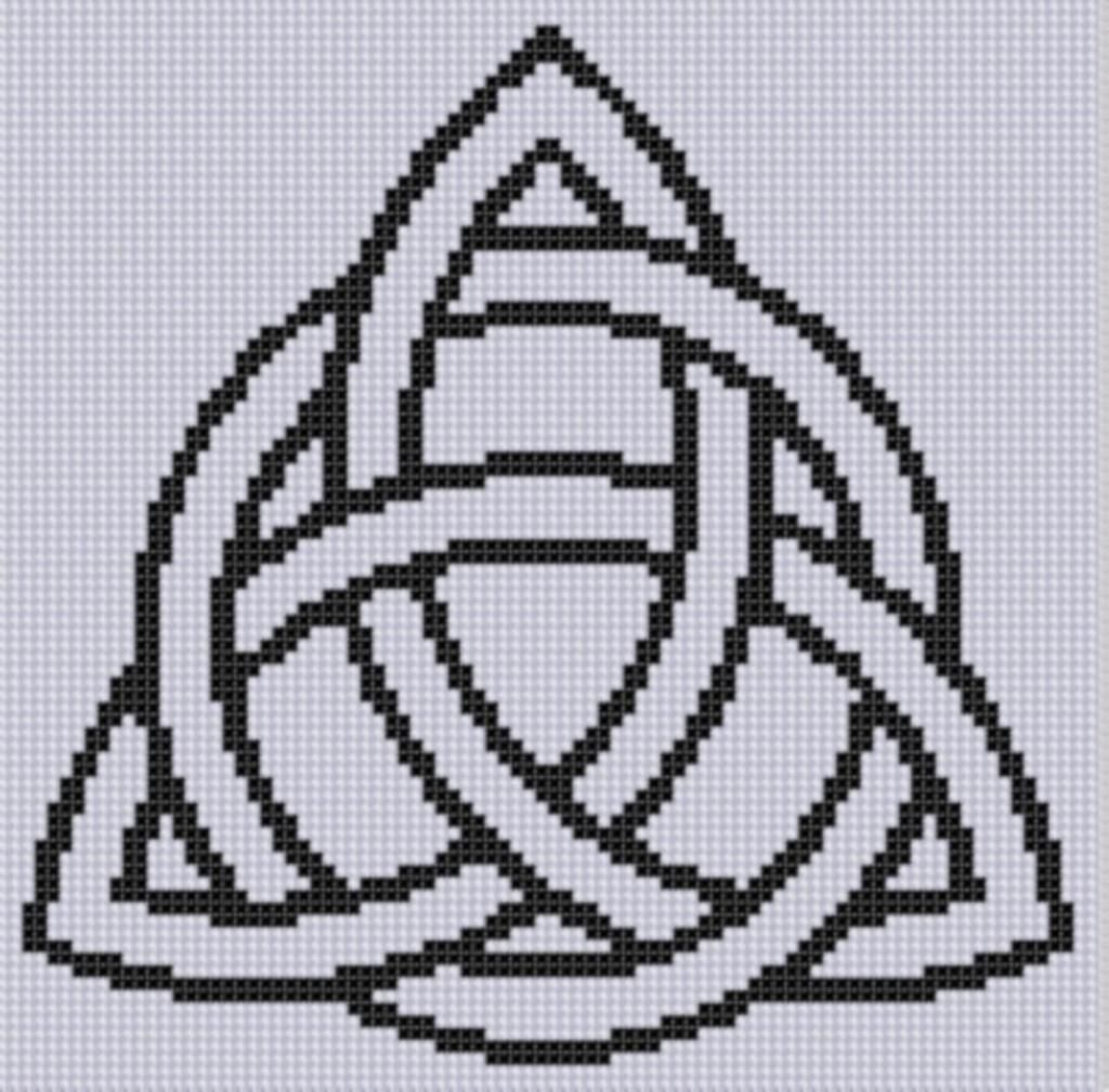 Celtic Pattern 3 Cross Stitch Pattern | Celta, Punto de cruz y Puntos