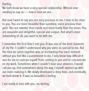 Romantic Birthday Letter For Girlfriend  Paragraph For Her