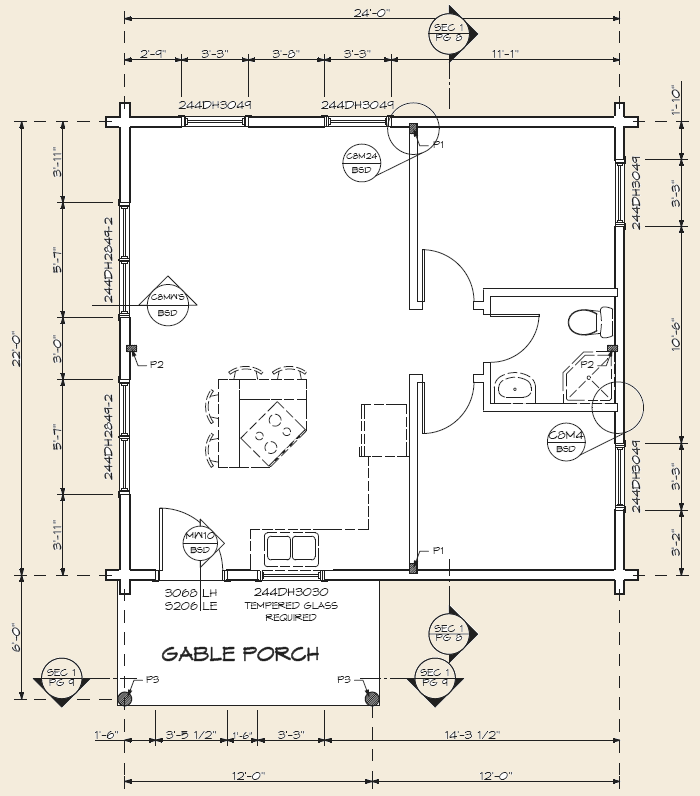 Expedition Log Cabin Floor Plan First Floor Tiny Homes Pinterest