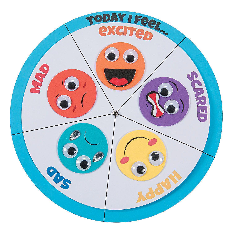 How I Feel Wheel Craft Kit
