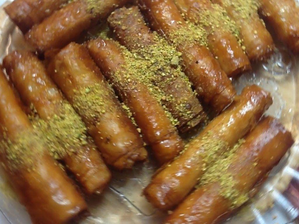 مطبخ الاكلات العراقيه زنود الست 1 رمضان Arabic Sweets Middle Eastern Food Desserts Arabic Dessert