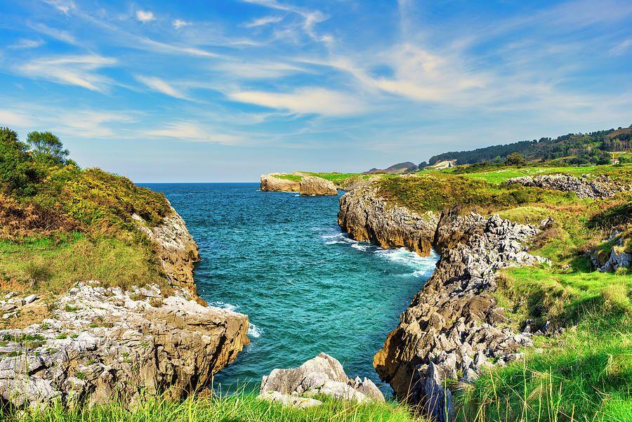 La bonita costa de Llanes en Asturias