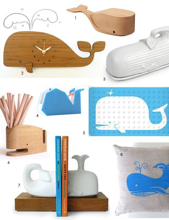 All Things Whale For Your Home