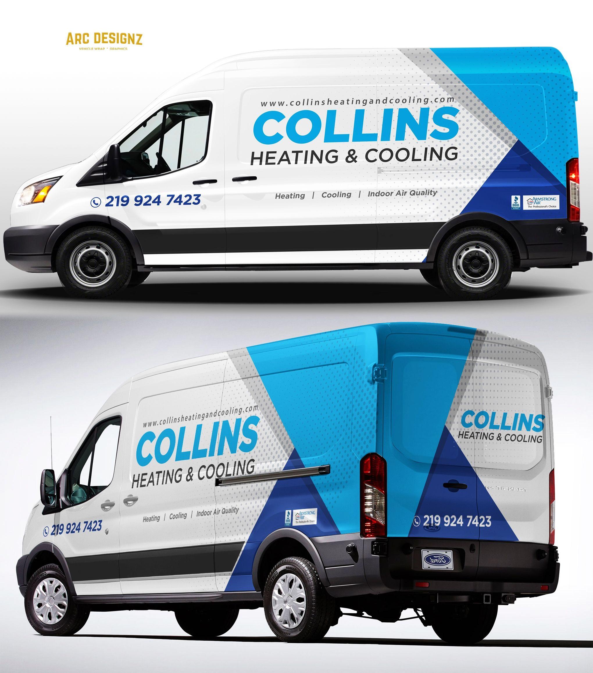 Collinshvac Picked A Winning Design In Their Car Truck Or Van