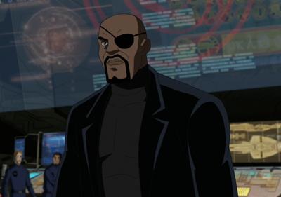 Nick Fury Nick Fury Spider Man Animated Series Ultimate Spiderman
