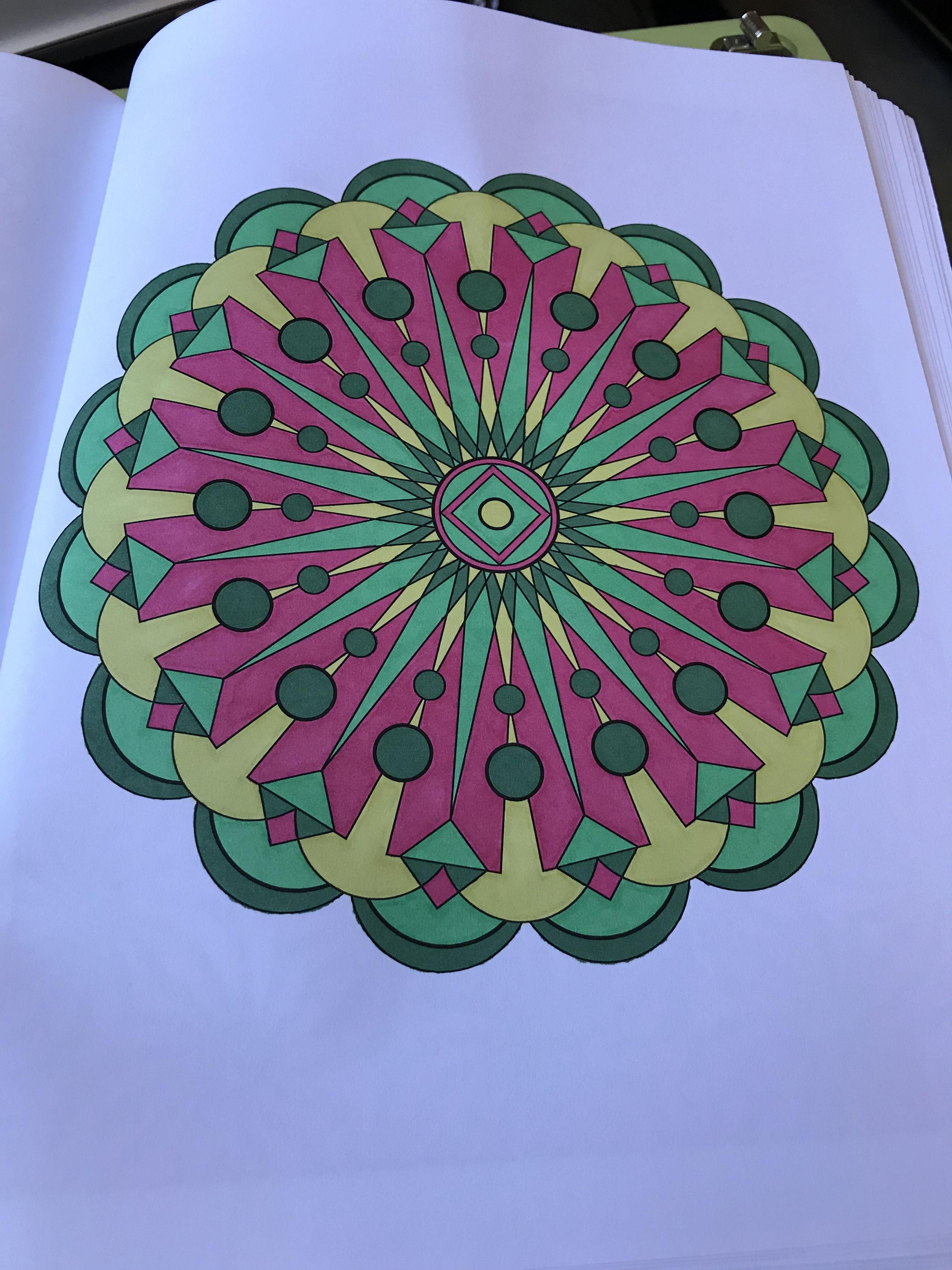 Pattern + Design Coloring Book Vol 1 by Jenean Morrison using ...