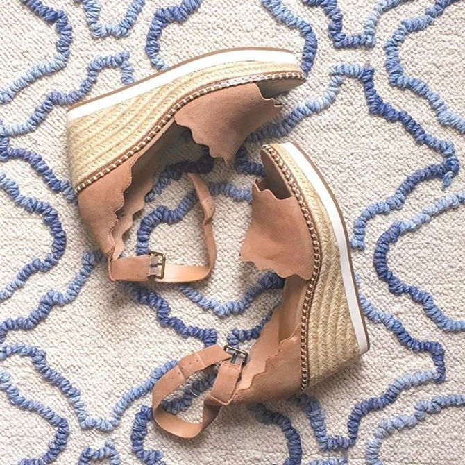 6f0495265456 Crown Vintage Daffodil Espadrille Wedge Sandal Women s Shoes