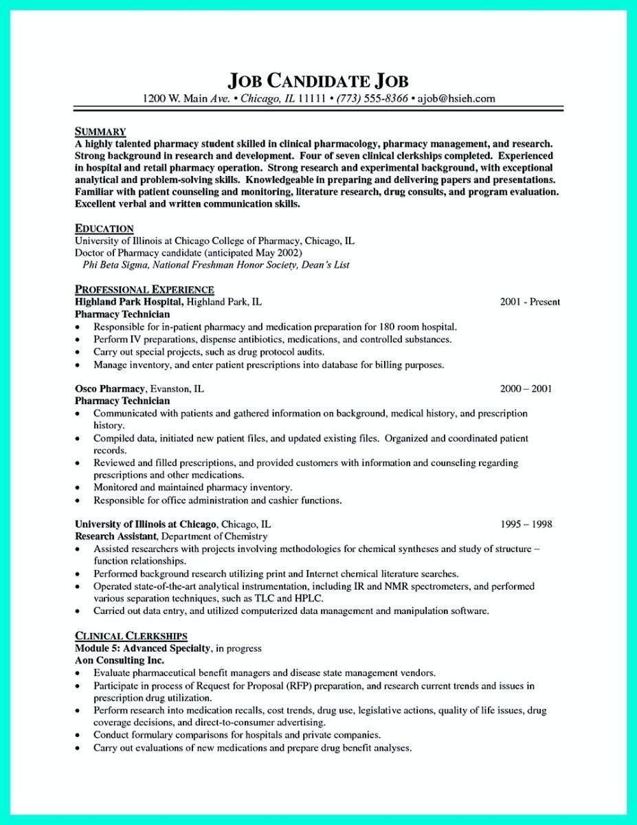Pharmacy Technician Resume Objectives Excellent What Objectives To Mention In Certified Pharm Job Resume Samples Resume Skills Job Resume
