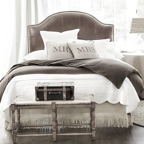A bed should create an experience. Although taste is important, the bed and setting of the bed should transport you to a place of peace, romance and love.
