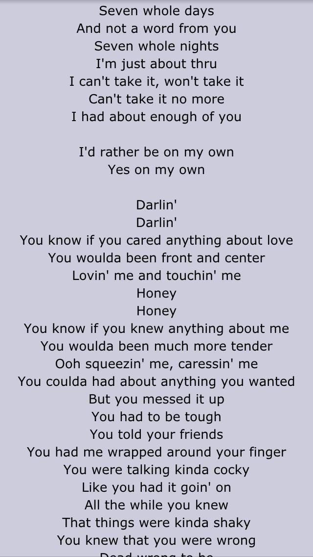Lyric lyrics to goodnight irene : Toni Braxton- Seven whole nights | Lyrics | Pinterest | Toni braxton