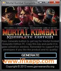 Mortal Kombat 9 Komplete Edition Keygen 100 Working Download