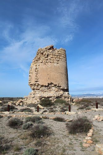 """Almería, Roquetas de Mar, Torre de Cerrillos.  36° 42' 2.93"""" N  2° 39' 25.99"""" W  Cortesía de José Ángel de la Peca"""