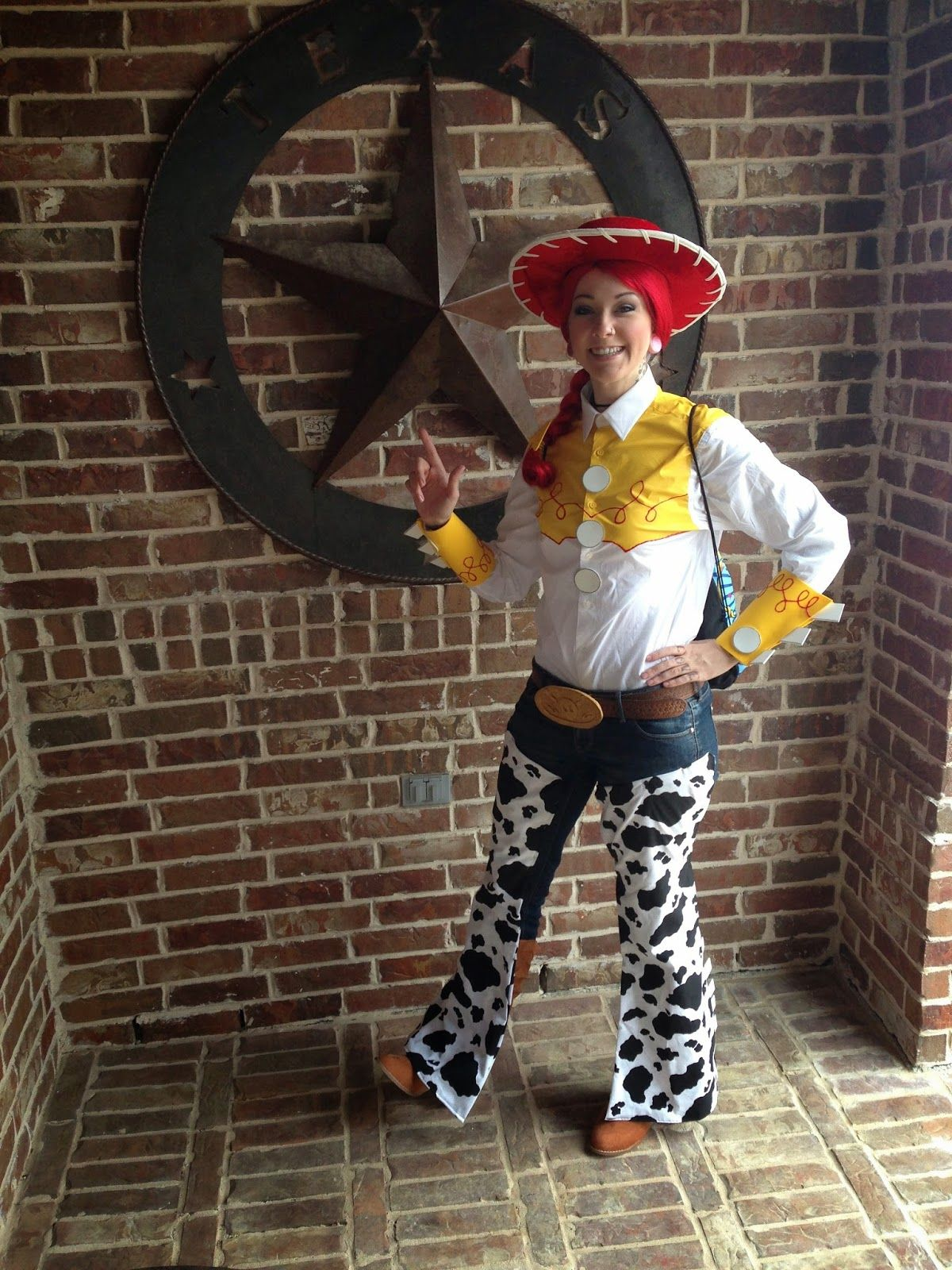 Great DIY Jessie from Toy Story Tutorial!  c9a1e09f5d3