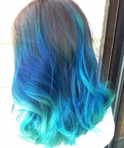 Bubblegum Light Blue Hair Dye Angel Manic Panic