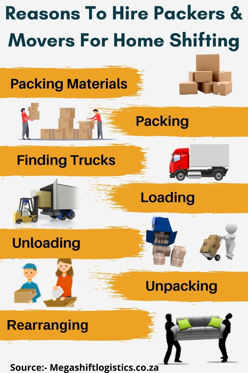 Hire help to move furniture