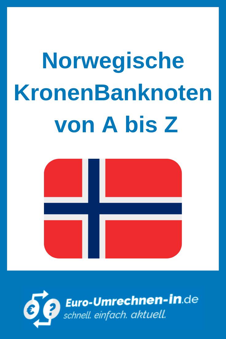 Norwegische Kronen Norwegisch Krone Norwegen