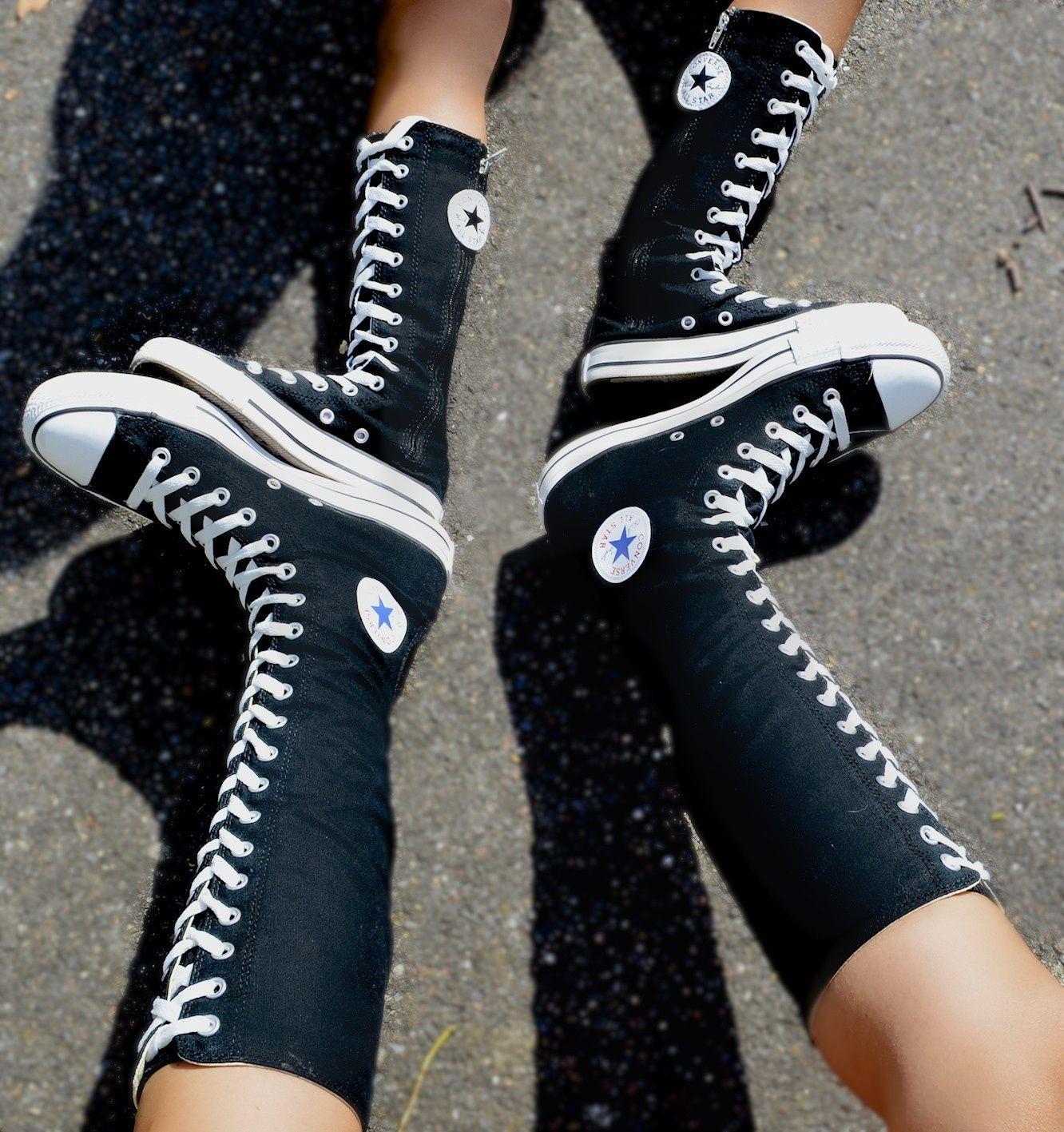 xxhi knee high converse converse boots