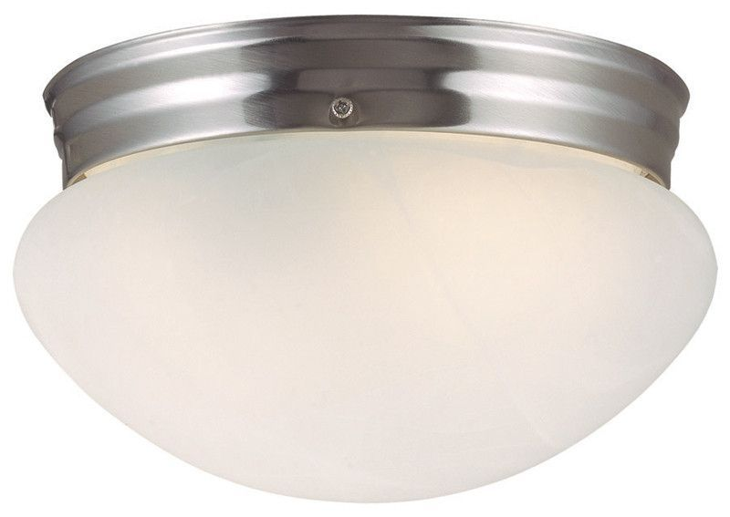 Design House 511576 511576 Millbridge 1 Light Ceiling Satin Nickel