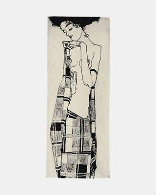 EGON SCHIELE (1890-1918) Austrian Expressionist Egon Schiele was regarded by many of his contemporaries the greatest draftsman of the 20th century. With eroticism as one of the major themes in his wor