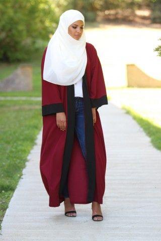 Collection de Capes et Cardigans - Vêtement fashion pour femme musulmane  (6) - Mayssa 1f6bdb974c41