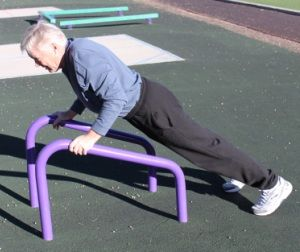 Outdoor Fitness Equipment Push Up Stand                                                                                                                                                                                 More
