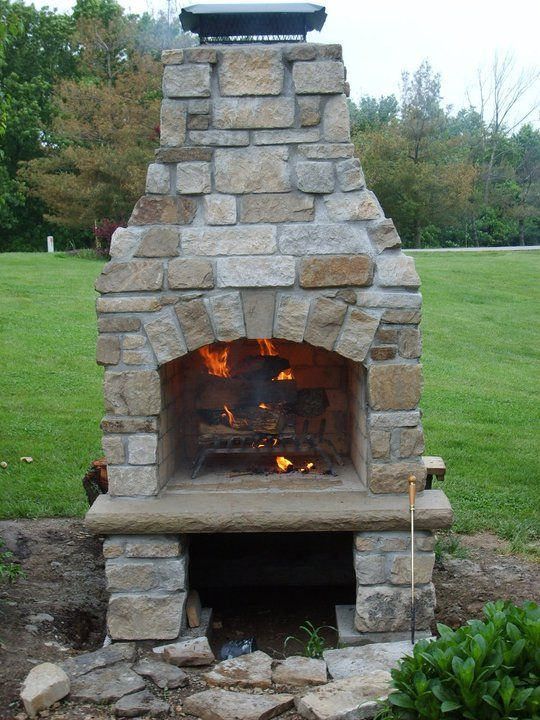 Stone Age Manufacturing Standard Fireplace | Landscaping ...
