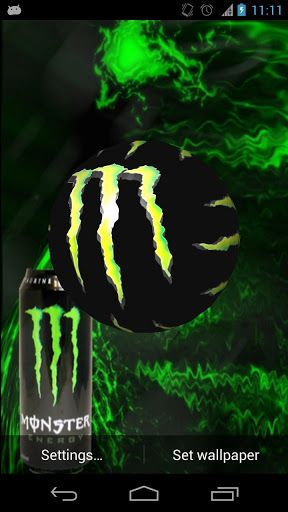 Download monster energy 3d wallpaper for android monster energy monster energy live wallpaper app for android voltagebd Images