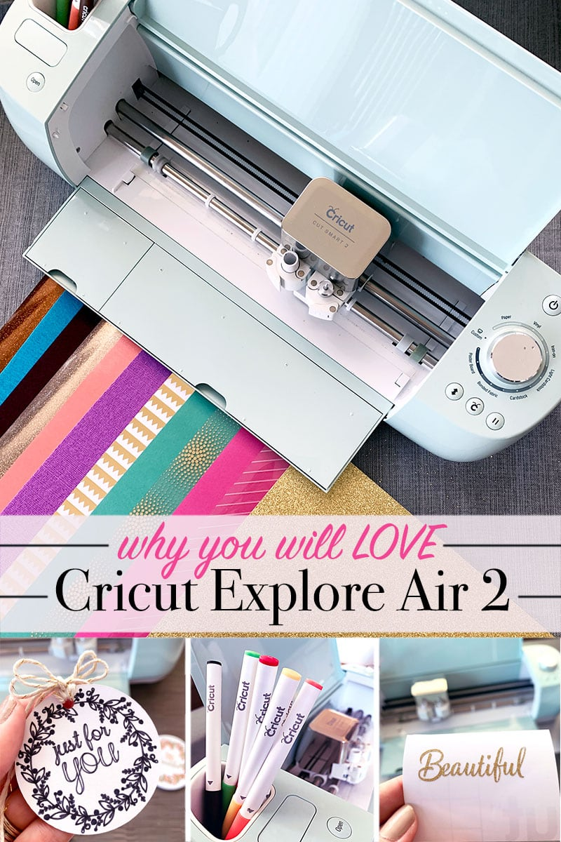 Why You'll Love Cricut Explore Air 2 #cricutexploreair2projects Learn my top reasons you'll love using the Cricut Explore Air 2. Perfect for beginners and expert crafters alike. Plus I I've included 2 project tutorials to make your own custom gifts with your Cricut cutting machine! #ad @officialcricut #cricutexploreair2projects