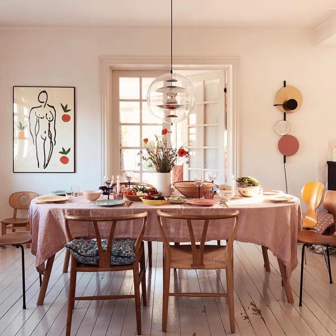 32 More Stunning Scandinavian Dining Rooms: Sunday Supper With #matisse 💖