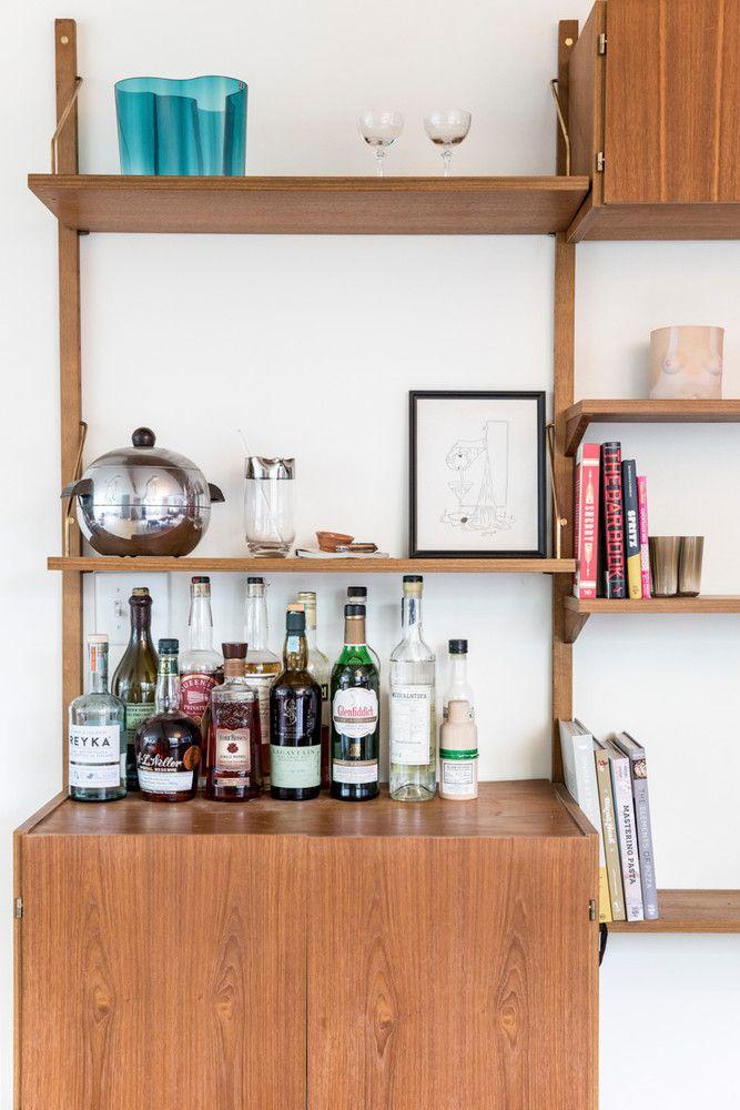 A Midcentury Maine Home Where Scandinavia Meets Palm Springs | Bar ...