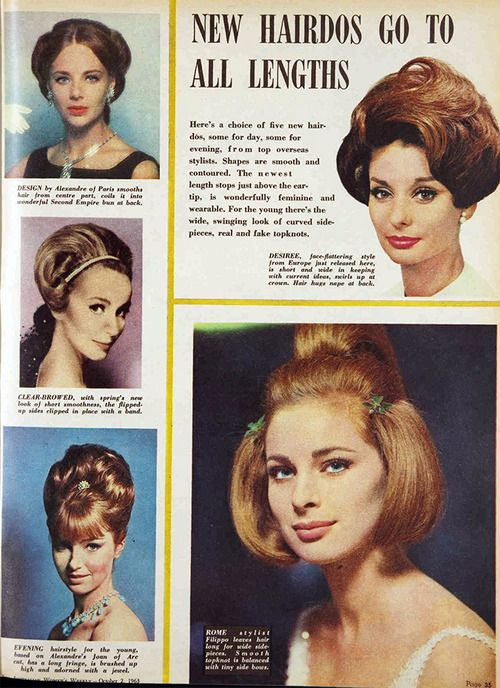 Hairstyles 1963 Vintage Hairstyles Hair Styles My New Haircut