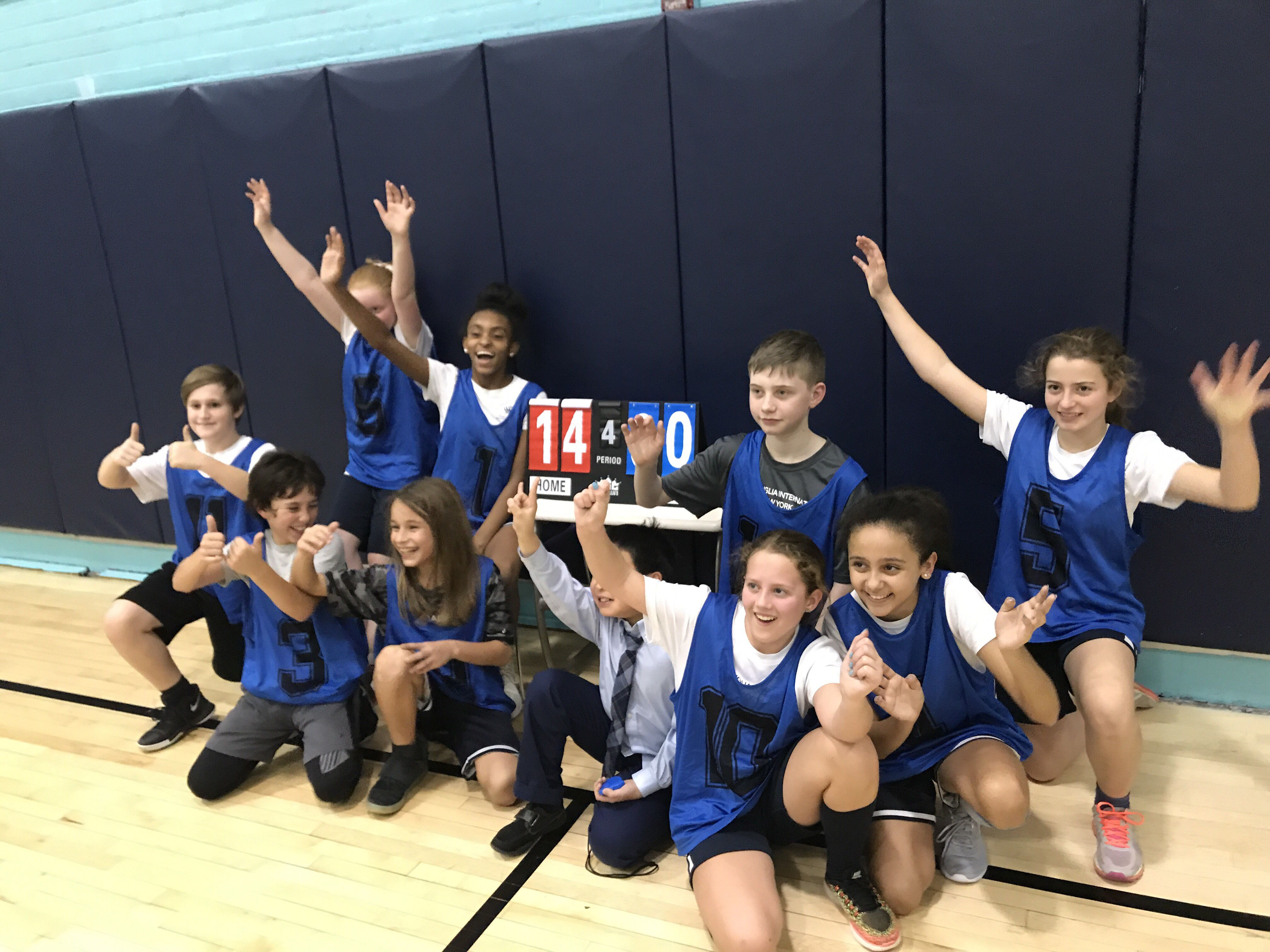 Congratulations to the NAISNY U12 basketball team for